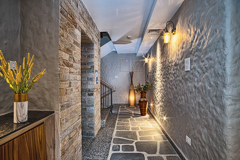 Corridor of Arushi Boutique Hotel