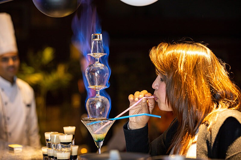 Marpha Restaurant and Bar (Flaming Lamborghini)