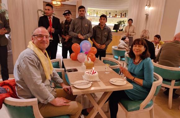customer birthday celebration