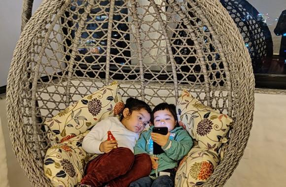 Kids Enjoying Their Stay At Arushi