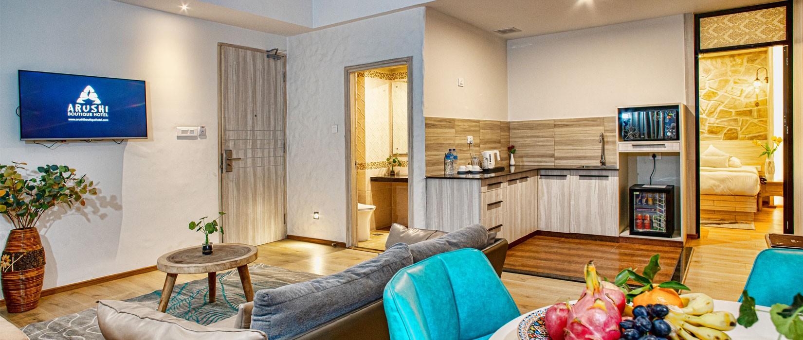 Arushi Boutique Hotel Suite Room