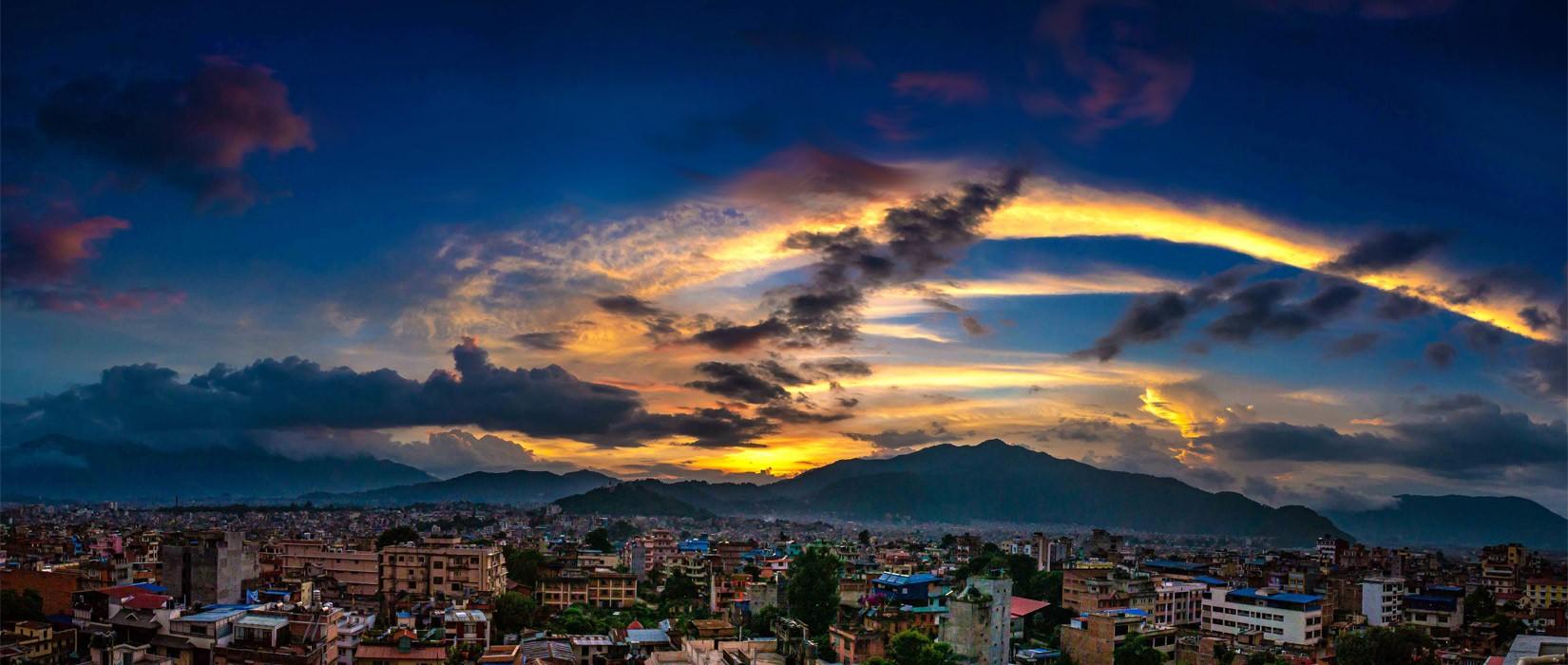 Beautiful Skyline seen from Marpha Bar