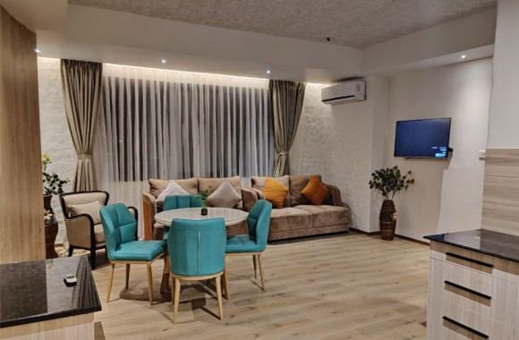 Lounge Area of Suite Room